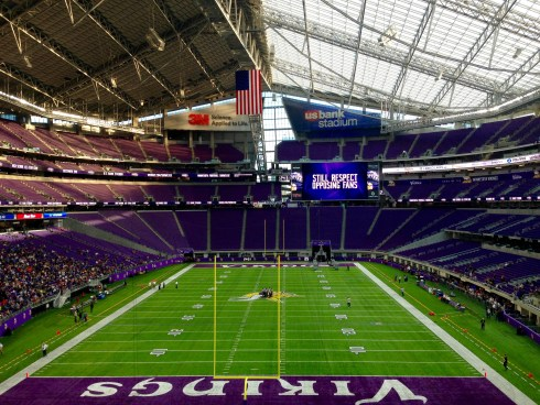 US Bank Stadium interior