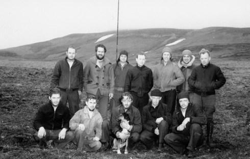 12 man Kiska crew