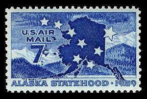US Air Mail - Alaska