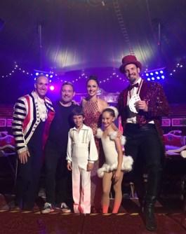 El Chef Albert Adria en el Circo Raluy