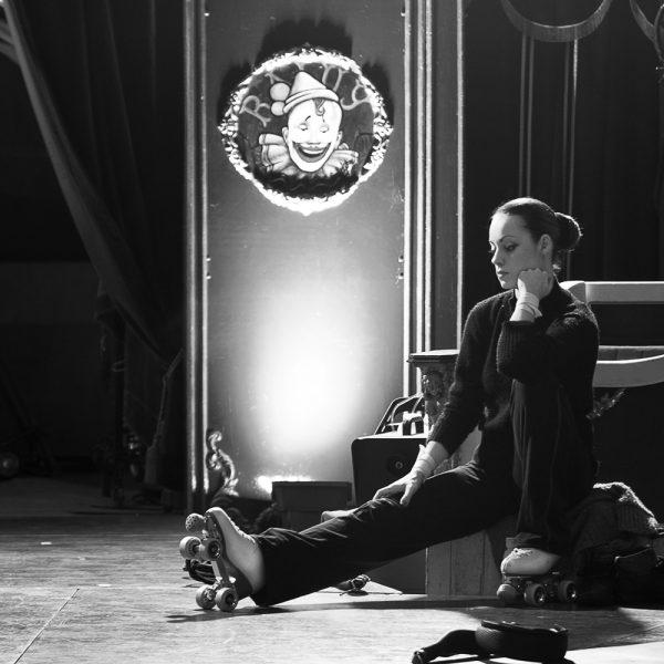 Backstage del Circo Raluy
