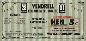 Circo Raluy en El Vendrell 2017