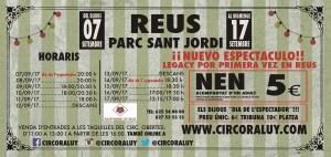 Circo Raluy en Reus 2017