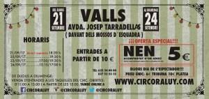 Circo Raluy en Valls 2017