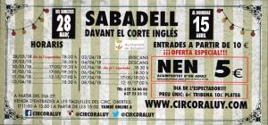 Circo Raluy Sabadell hasta el 15 de abril