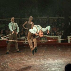 Circo Raluy.Troupe La Habana. Columpio ruso y cuerdas
