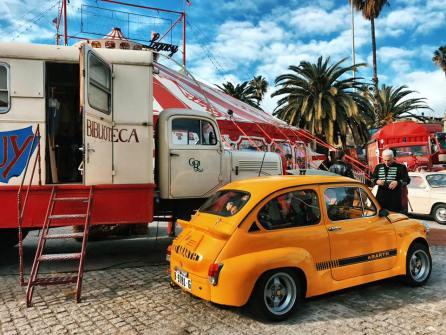 Evento Club SEAT 600 Barcelona en el Circo Raluy 02
