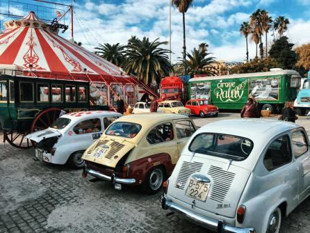 Evento Club SEAT 600 Barcelona en el Circo Raluy 03