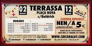 Circo Raluy en Terrassa 2019