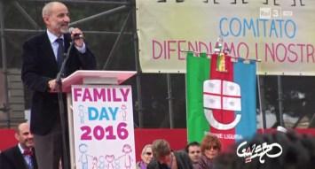 Roma, gonfalone della Liguria al Family Day