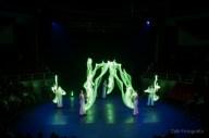 Gandini Juggling (Mazas de luz).