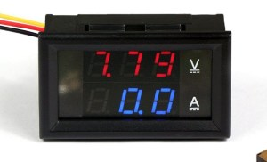 Digital Volt And Amp Meter Circuit Diagram