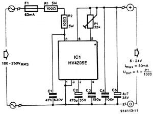 Circuit Diagram of LowVoltage Power Inverter ACDC