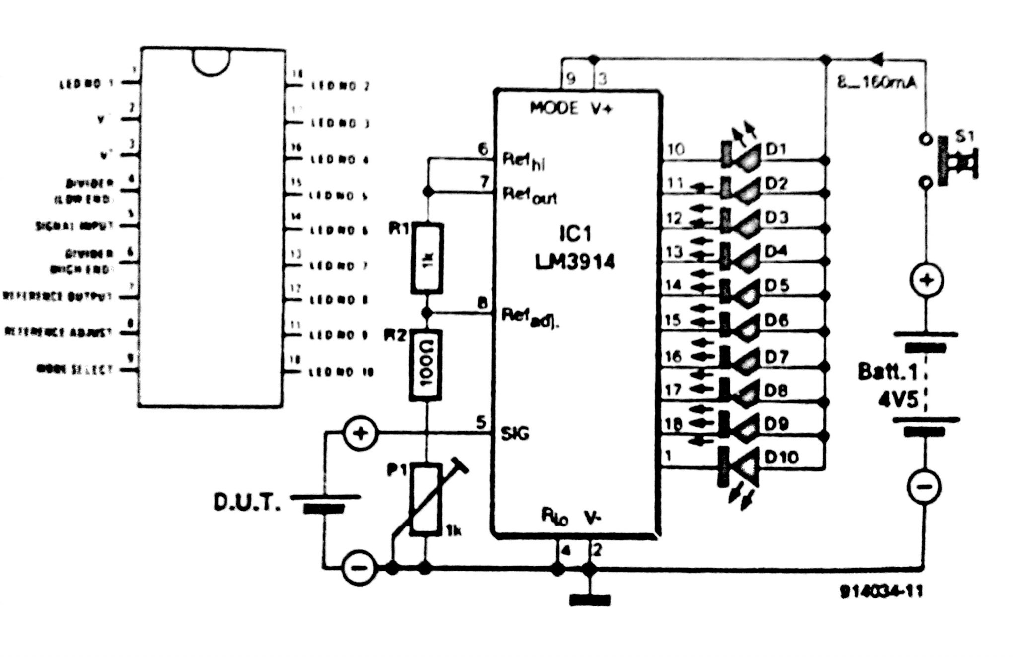 Battery Schematic Diagram