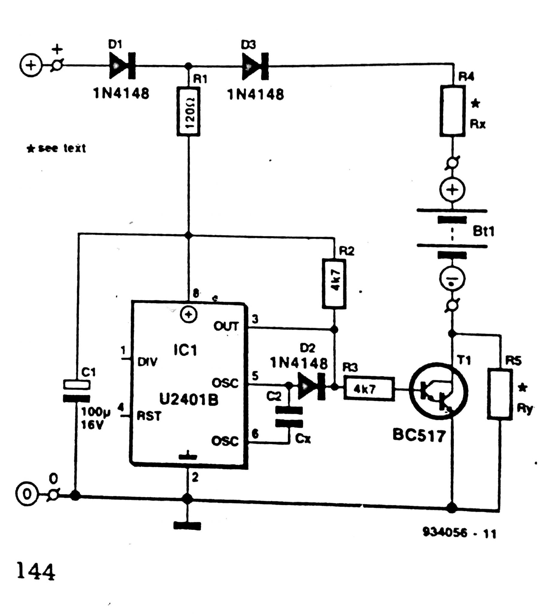 Car Battery Charger Schematic Circuit Diagram