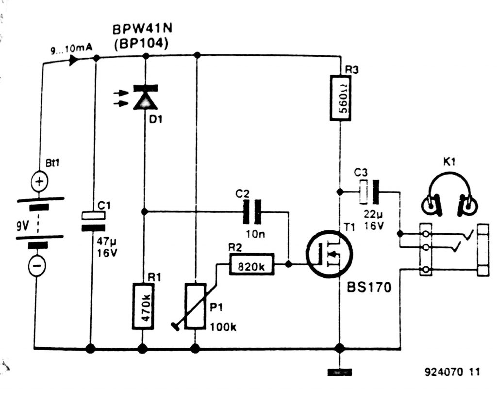 Wireless Power Schematic
