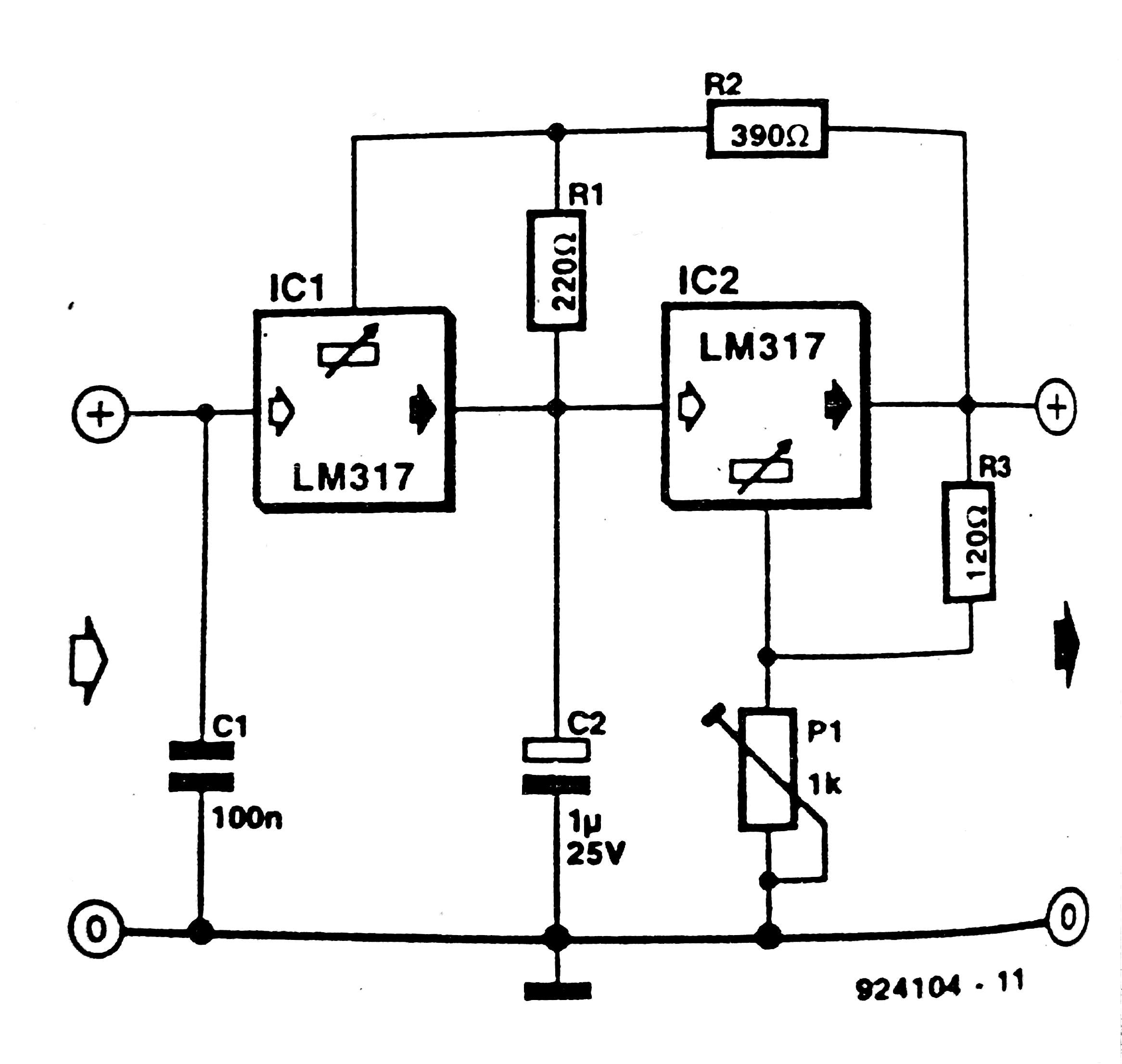 12 Volt Voltage Regulator Schematic
