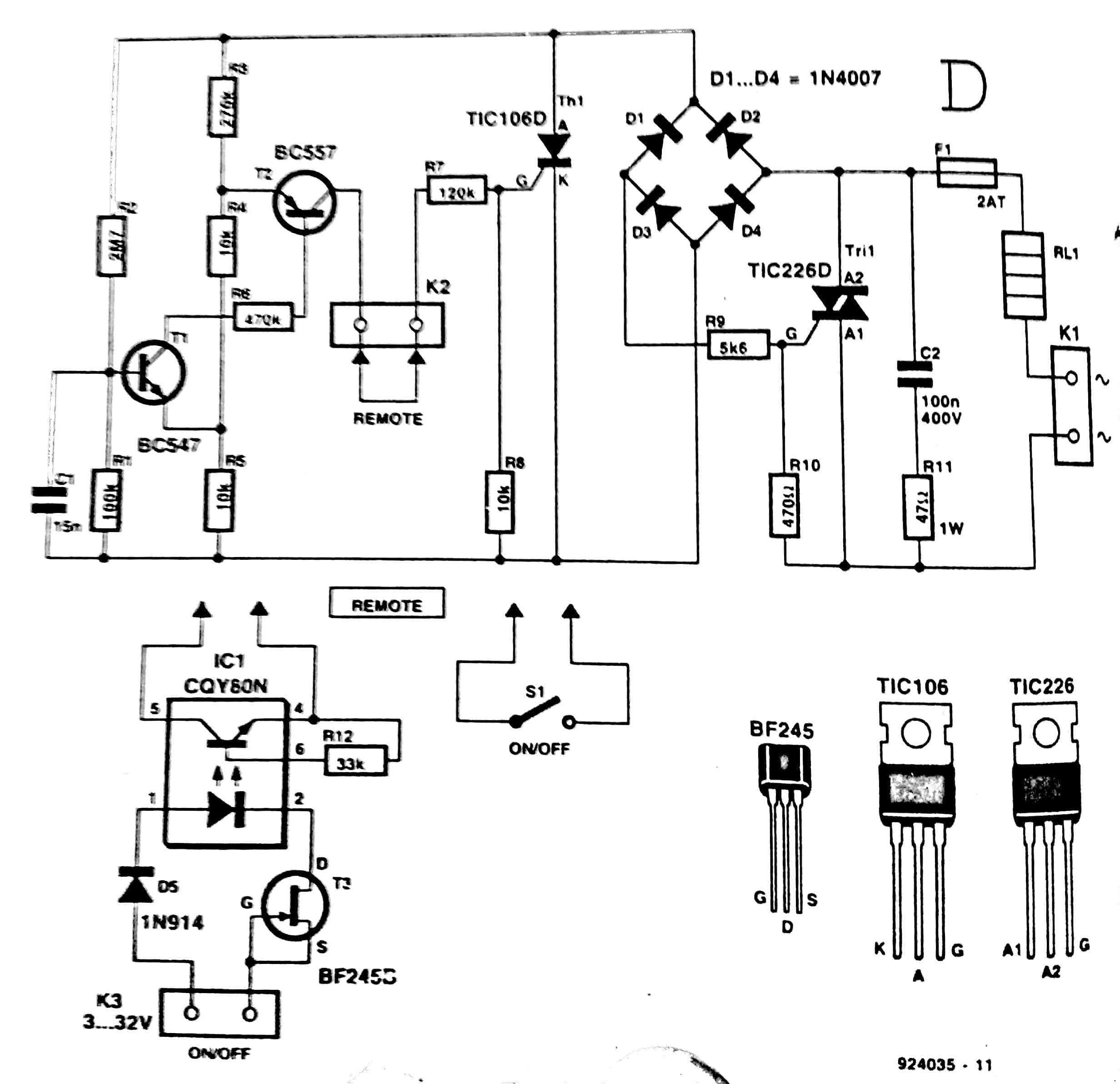 Ac To Converter Circuit Diagram
