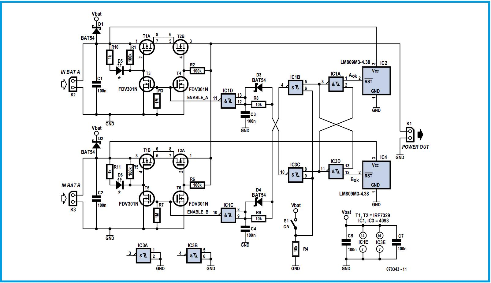 Dual Battery Schematic Circuit Diagram