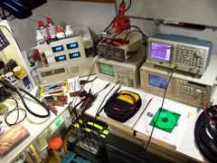 The testing bench