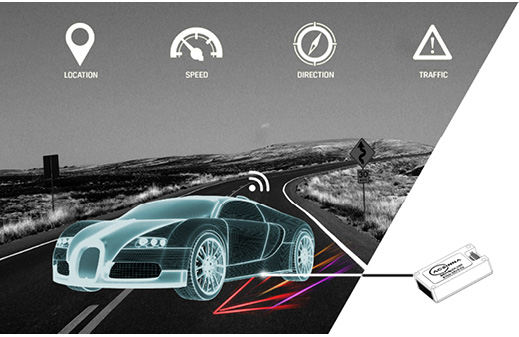 Figure 1: Working with a suite of sensors, IMU Sensors can help ensure safe operation for autonomous cars.