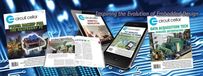 Circuit Cellar Magazine for Electronic Engineers