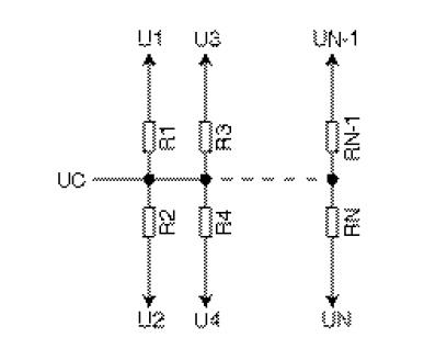 Figure 6 Generalized schematic of a voltage divider