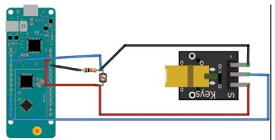 Figure 9 The electronics diagram for the project