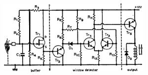 flame detector circuit