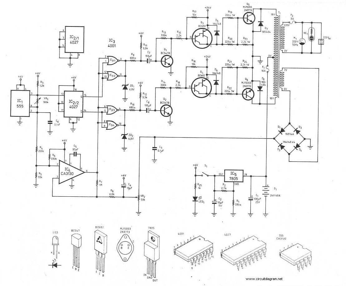 W Power Inverter Pcb Layout Design