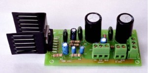 10W Stereo Power Amplifier with TDA2009A