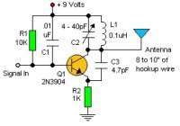 Basic RF Oscillator Circuit Electronic