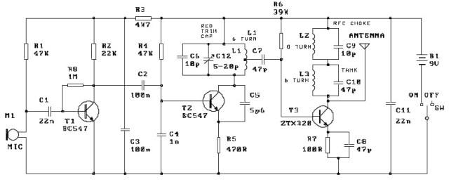 three stage fm transmitter kit ck0207 diy k32 - vega kit of fm transmitter