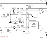 60W Power Audio Amplifier based on TDA2052