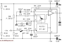 60W Power Audio Amplifier Circuit using TDA2052