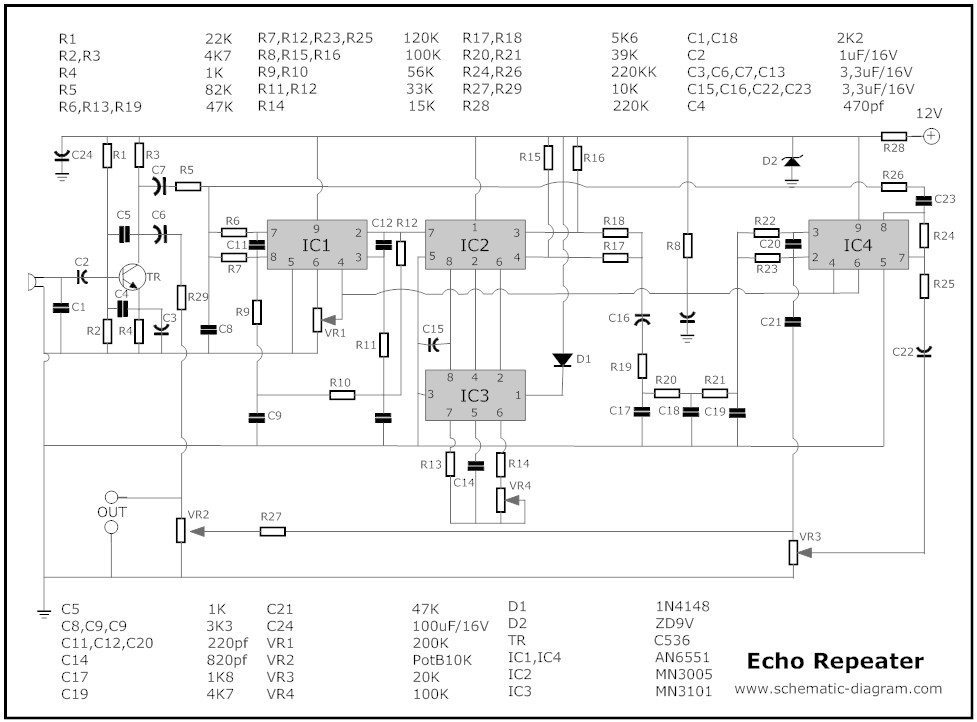 draw your wiring mic mixer with echo schematic diagram Echo Chain Saw Parts