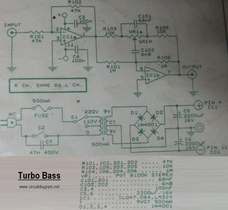 Turbo Bass Circuit Electronic