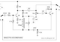 Maestro Boomerang Wah-Wah Circuit Diagram