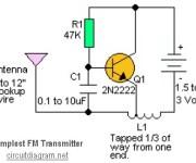Simplest RF Transmitter