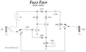 fuzz face circuit diagram
