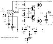 Transistored 10W Audio Amplifier