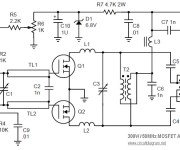 MOSFET Linear Amplifier 300W/50MHz