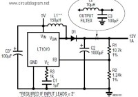 5v to 12v dc boost converter