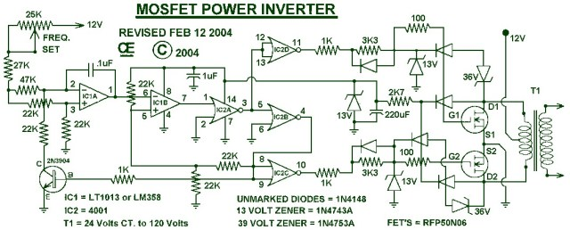 Diagram For Everything Inverter Circuit Diagram 1000w Pdf