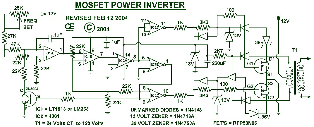 Saf 1000w Inverter Cct Diagram