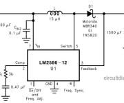 DC to DC Converter +5V to +12V