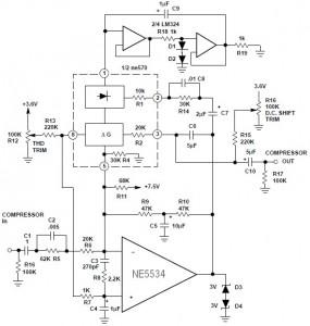 Hi-Fi Compressor With Pre-emphasis