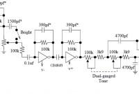 Tube Sound Fuzz circuit