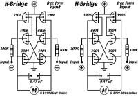 6 Transistors Tilden H-Bridge Circuit Electronic