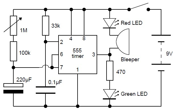 adjustable analog timer circuit